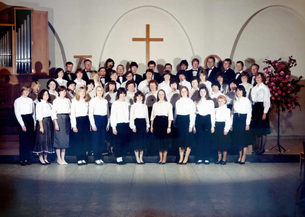 Der Chor im Jahre 1984